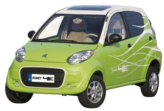 polski samochód elektryczny Romet 4E