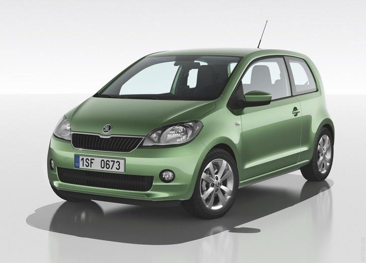 Škoda Citigo (źródło: Pinterest)