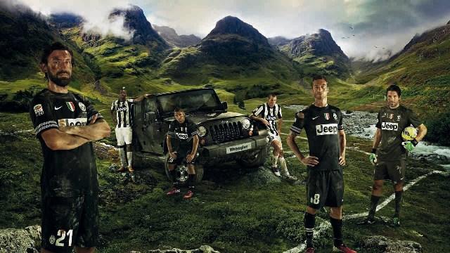 Juventus w reklamie Jeep