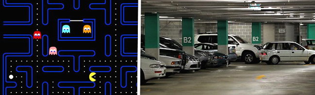 parking pac-man
