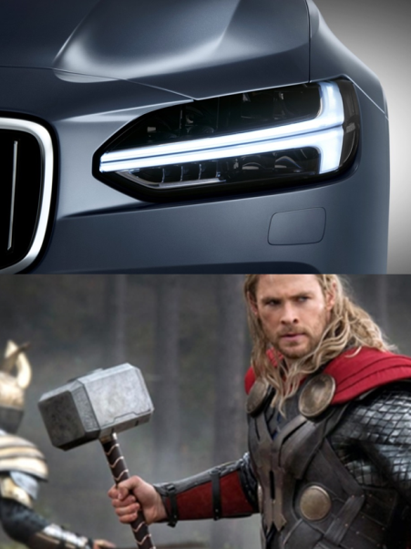 lampy S90 i Thor