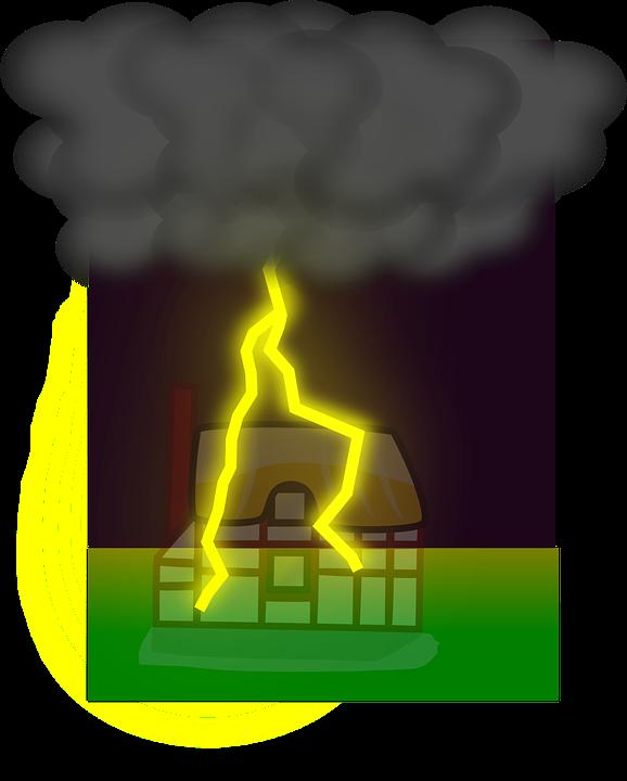 Ubezpieczenie domu daje więcej spokoju ducha o wyroki Boskie. Źródło: Pixabay.com.