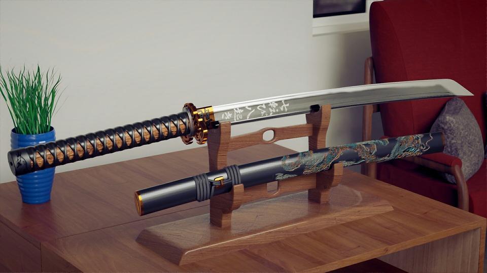 Taki oto miecz miał zainspirować nowego Lexusa. Źródło: Pixabay.com.